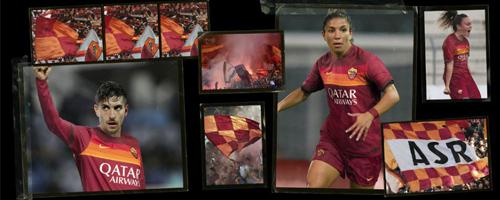 camiseta de futbol AS Roma barata