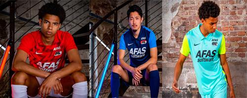 camiseta de futbol AZ Alkmaar barata