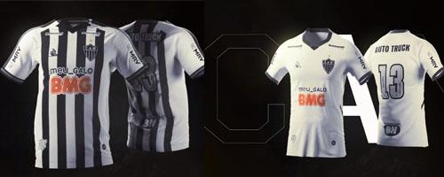 camiseta de futbol Atletico Mineiro barata