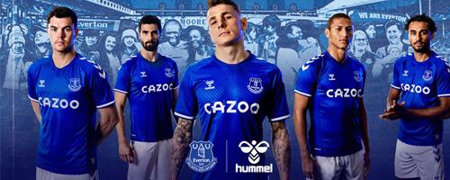 camiseta de futbol Everton barata