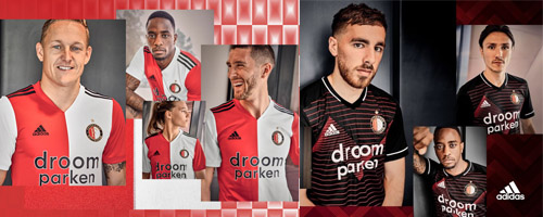 camiseta de futbol Feyenoord barata