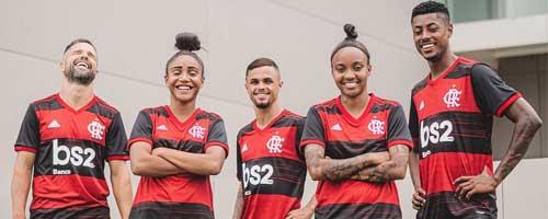 camiseta de futbol Flamengo barata