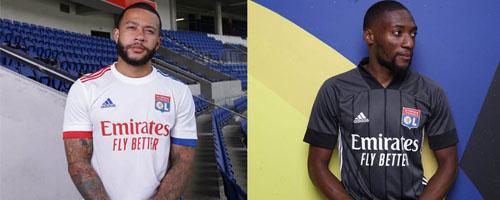camiseta de futbol Lyon barata