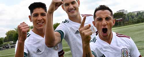 camiseta de futbol Mexico barata