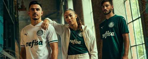 camiseta de futbol Palmeiras barata