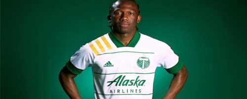 camiseta de futbol Portland Timbers barata