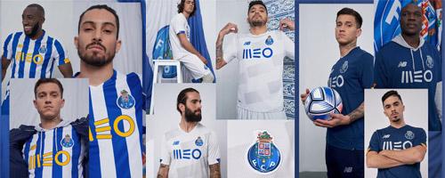 camiseta de futbol Porto barata
