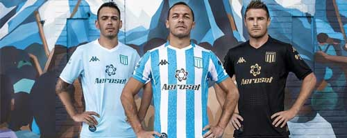camiseta de futbol Racing Club barata