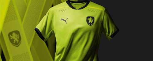 camiseta de futbol Republica Checa barata