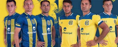 camiseta de futbol Rosario Central barata