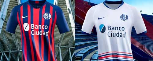 camiseta de futbol San Lorenzo barata