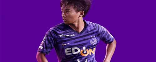 camiseta de futbol Sanfrecce Hiroshima barata
