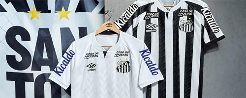 camiseta de futbol Santos barata