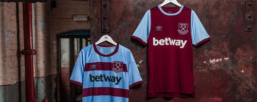camiseta de futbol West Ham barata