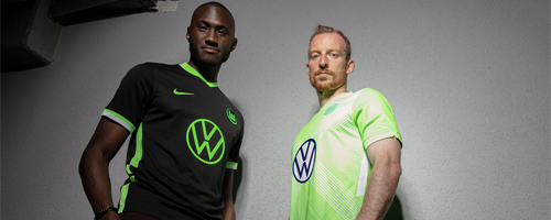 camiseta de futbol Wolfsburg barata