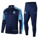 Chandal del Olympique Marsella 2019-2020 Azul Oscuro