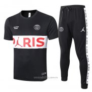 Chandal del Paris Saint-Germain Manga Corta 2020-2021 Negro