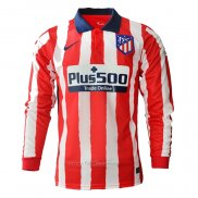 Camiseta Atletico Madrid Primera Manga Larga 2020-2021