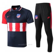 Conjunto Polo Atletico Madrid 2020-2021 Azul