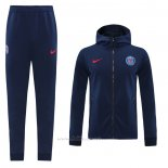 Chandal con Capucha del Paris Saint-Germain 2020-2021 Azul