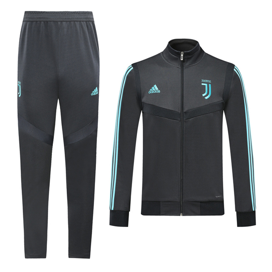 Chandal del Juventus 2019-2020 Gris Oscuro