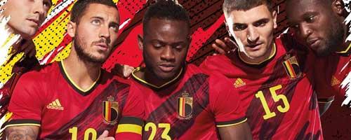camiseta de futbol Belgica barata