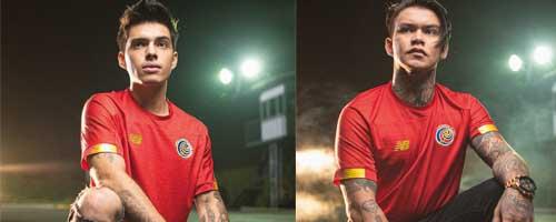 camiseta de futbol Costa Rica barata