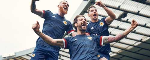 camiseta de futbol Escocia barata
