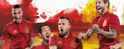 camiseta de futbol Espana barata