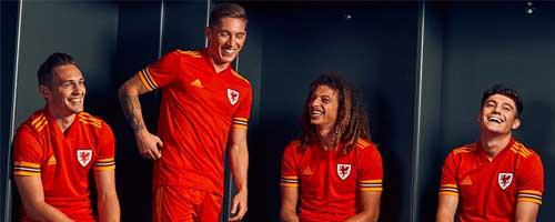camiseta de futbol Gales barata