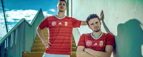 camiseta de futbol Hungria barata