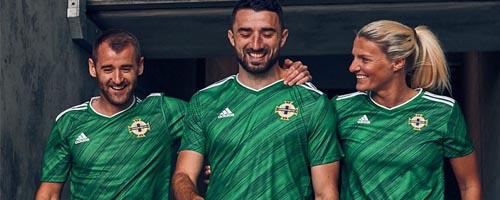 camiseta de futbol Irlanda del Norte barata